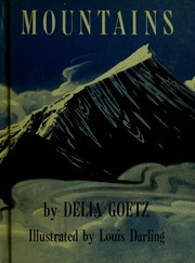 Cover of: Mountains