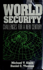 Cover of: World Security: Challenges for a New Century  | Michael T. Klare