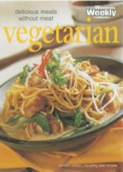 Cover of: Vegetarian Cooking