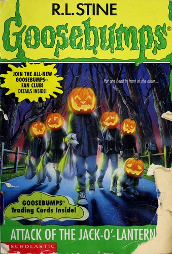 Attack of the jack-o'-lanterns by R. L. Stine