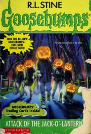 Cover of: Attack of the jack-o'-lanterns | R. L. Stine