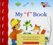 "Cover of: My ""f"" book"