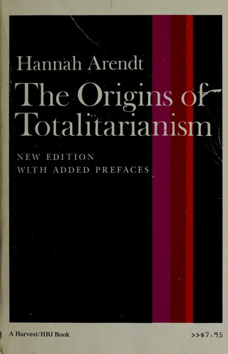 the origins of totalitarianism  1994 edition