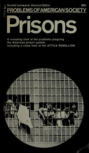 Cover of: Prisons