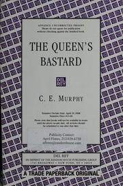 Cover of: The queen's bastard | C. E. Murphy