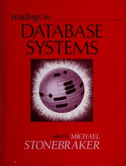 Cover of: Readings in database systems