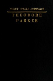 Cover of: Theodore Parker | Henry Steele Commager