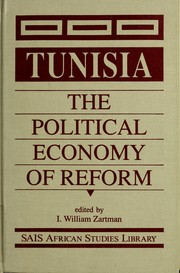 Cover of: Tunisia: The Political Economy of Reform (Sais African Studies Library)