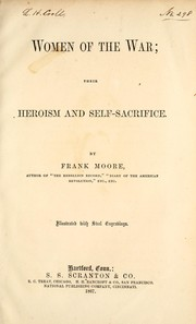 Cover of: Women of the war by Moore, Frank