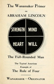 Cover of: The Wanamaker primer on Abraham Lincoln