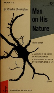 Cover of: Man on his Nature