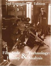 Cover of: Film style and technology: history and analysis