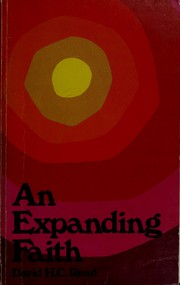 Cover of: An expanding faith | David Haxton Carswell Read