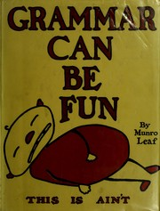 Cover of: Grammar can be fun