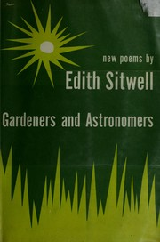 Cover of: Gardeners & astronomers: new poems.