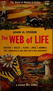 Cover of: Man in the web of life | John H. Storer