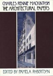 Cover of: Charles Rennie Mackintosh