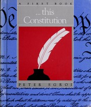 Cover of: --this Constitution | Peter P. Sgroi