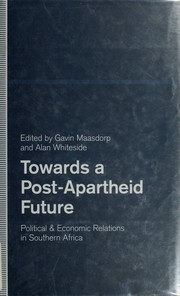 Cover of: Towards a post-apartheid future |