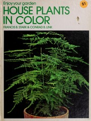 Cover of: House plants in color