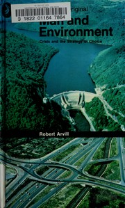 Cover of: Man and environment | Robert Arvill