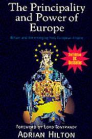 Cover of: The Principality and Power of Europe