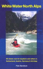 Cover of: White Water North Alps