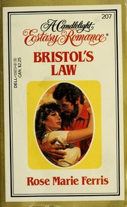 Cover of: Bristol's Law | Rose M. Ferris