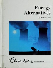 Cover of: Energy alternatives | Barbara Keeler