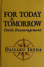 Cover of: For today and tomorrow: Daily encouragement