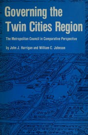 Cover of: Governing the Twin Cities region