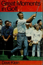 Cover of: Great moments in golf