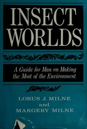 Cover of: Insect worlds | Lorus Johnson Milne