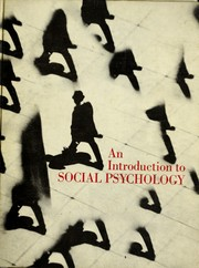 Cover of: An introduction to social psychology