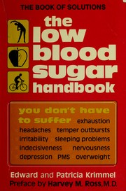 Cover of: The Low Blood Sugar Handbook |