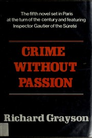 Cover of: Crime without passion