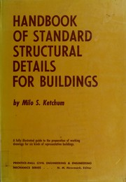 Cover of: Handbook of standard structural details for buildings