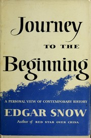 Cover of: Journey to the beginning