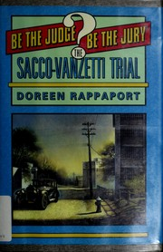 Cover of: The Sacco-Vanzetti trial