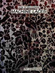 Cover of: How to Recognize Machine Laces