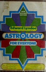 Cover of: Astrology for everyone. | Edward Lyndoe