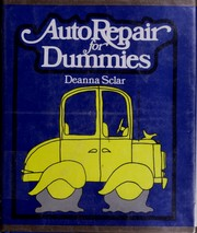Cover of: Auto repair for dummies | Deanna Sclar