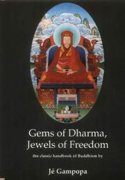 Cover of: Gems of Dharma, Jewels of Freedom