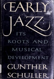 Cover of: The history of jazz