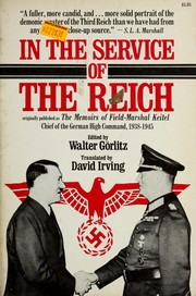 Cover of: In the service of the Reich by Wilhelm Keitel
