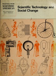 Cover of: Scientific technology and social change