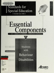 Cover of: Standards for special education | Alberta. Alberta Learning. Special Programs