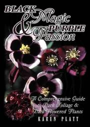Cover of: Black Magic and Purple Passion