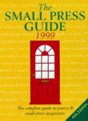 Cover of: Small Press Guide UK 1999
