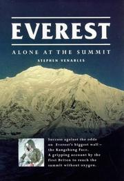 Everest by Stephen Venables